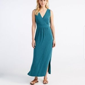 L.L. Bean Dresses - L.L. BEAN Maxi Dress Sleeveless Paisley Print NEW